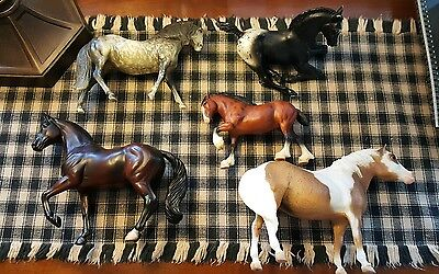 Breyer Horses, Lot of 5 Horses collect or repaint this mix lot super condition!