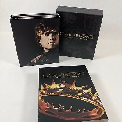 Game of Thrones The Complete Second Season Blu-Ray Blu Ray BluRay Disc Box Set