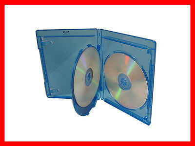 NEW 2 Pk VIVA ELITE Hold 3 Discs Triple Blu-Ray replacement case Holder(3 Tray)