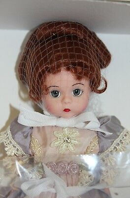 """Madame Alexander Doll 8"""" Wendy -  #26780 Sophisticated Silk Victorian *new Nrfb*"""