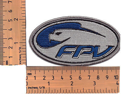 FPV GT V8 Supercars Embroidered Cloth Patch / Badge