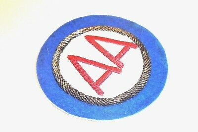 Bullion German Made AA Command Hand Embroidered patch