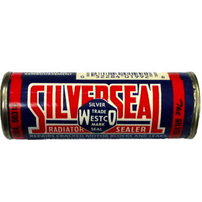 Radiator Stop Leak. SILVER SEAL. Made in the USA. SS24 21g.