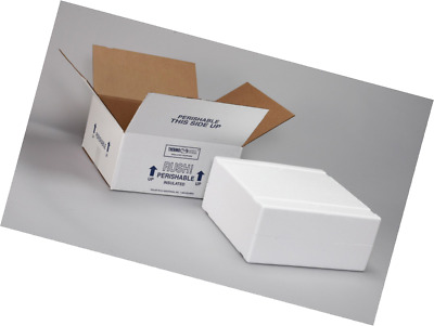 Polar Tech XM15C Thermo Chill Expand-em Series Insulated Carton with Foam Shippe