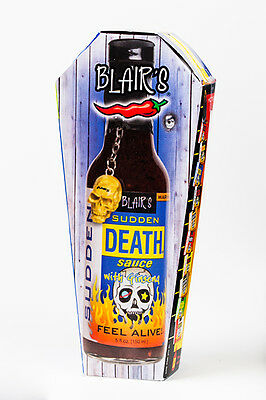 Blair's SUDDEN DEATH SAUCE with Ginseng! BLAIRS HOT chilli BBQ SPICY Habanero