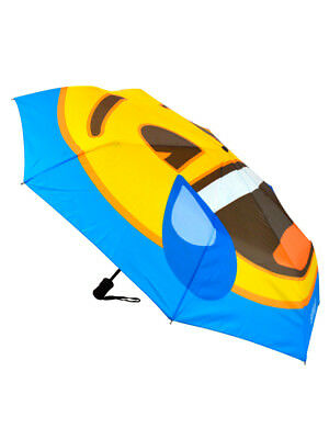 Emoji 3 Fold Compact Umbrella Laughing