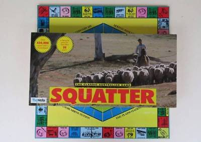 Squatter Classic Australian Board Game - Playworks