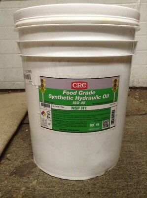 Crc Food Grade Synthetic Oil ISO 46, 5 gal., 4212
