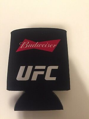 Budweiser UFC Can Koozie Beer Sleeve Coozy Beverage Insulator MMA