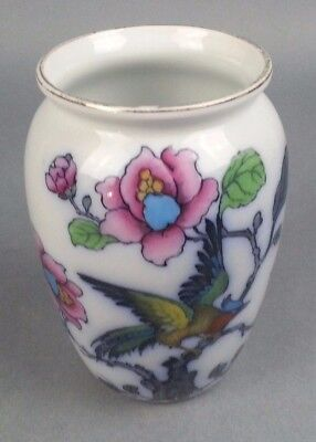 Antique Burslem England Keeling and Company Vase Planter Birds Flowers