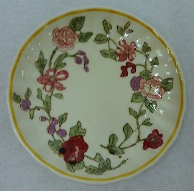 ROYAL DOULTON china WILDFLOWER D5273 pattern Round Coaster - 3-7//8""