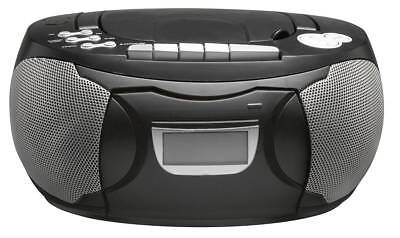 denver tcp 38 tragbarer cd player cd kassette fm radio. Black Bedroom Furniture Sets. Home Design Ideas