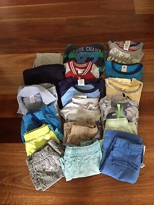 Bulk Pack Boys Clothes Size 5-6 Years. Nineteen Items In Pack
