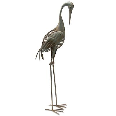National Tree 35 Inch Garden Accents Antique Green Crane (GAC30-35AG-A)