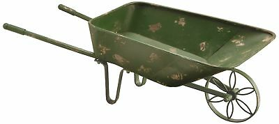 National Tree 27 Inch Garden Accents Antique Green Garden Cart (GAGC30-27AG)