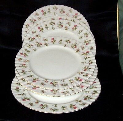 "Royal Albert ""Winsome"" set of six dinner plates"