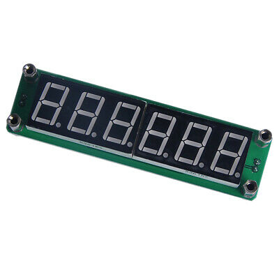 1~1000MHz Signal Frequency Counter Cymometer meter 6 LED FOR Ham Radio Red