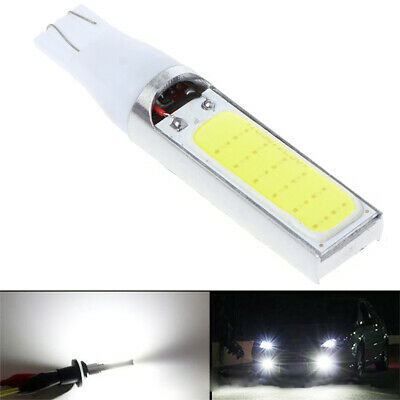 High power DC 12V 10W T10 194 168 W5W COB White LED Light Backup Fog Brake Lamp