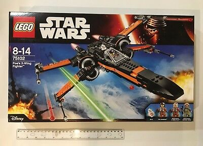NEW LEGO STAR WARS 75102 'POES X-WING STARFIGHTER' HUGE SET Inc MINIFIG FROM AUS