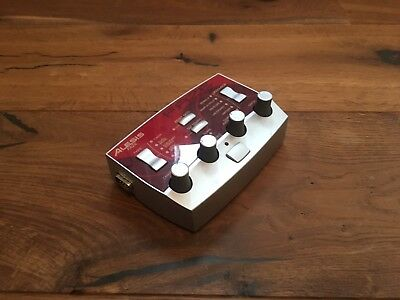 ALESIS FAZE PHASER EFFECTS PEDAL STUDIO MUTLI EFFECT MODULATION w/ADAPTER RARE