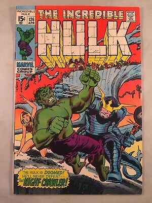 The Incredible Hulk #126, White Pages, Glossy Cover