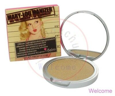 The Balm Mary Lou Manizer Schatten Shadow Teint Puder Highlighter Shimmer