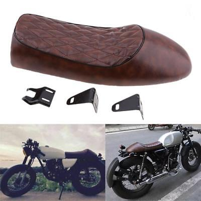 Motorcycle Cafe Racer Seat Hump Saddle For Honda CG Suzuki Kawasaki Yamaha