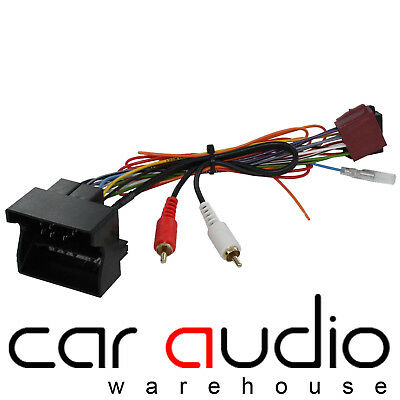 Ford Galaxy 1995-2005 Car Stereo Radio ISO Harness Adaptor Wiring CT20FD02
