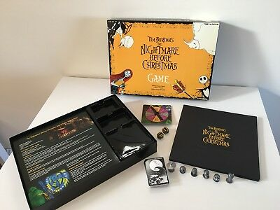 Neca Tim Burtons The Nightmare Before Christmas Game 100% Complete Mint