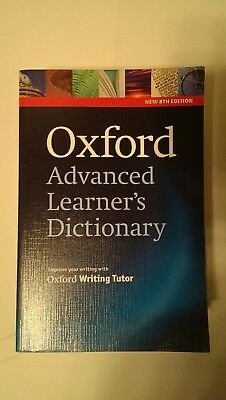 Oxford Advanced Learner's Dictionary with Oxford writing Tutor - 8th Edition