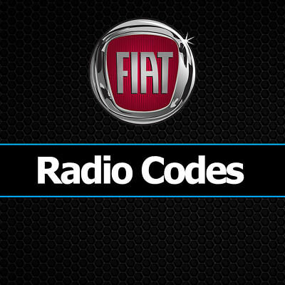 Fiat Radio Code All Models A2C Continental Stereo PIN Unlock | Fast Service