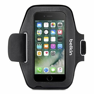Belkin Sport-Fit Neoprene Fitness Armband Clear screen protection for iPhone 7