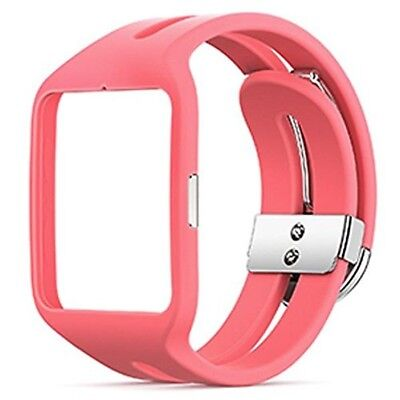 New Sony Wrist Strap for Smartwatch 3 SWR510 Pink colors From Japan