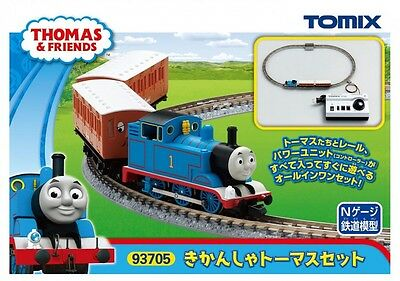 Brand New Tomix  Thomas Tank Engine & Friends Thomas Starter Set (N scale) 93705