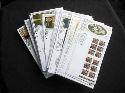 12362aj  GB 2009 BENHAM FIRST DAY COVERS COLLECTION - LOVELY SELECTION - VIEW ?