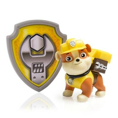 Paw Patrol Rubble Action Pack Pup & badge
