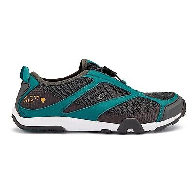 (10 B(M) US, Dark Shadow / Teal) - OluKai Eleu Trainer - Women's. Free Shipping