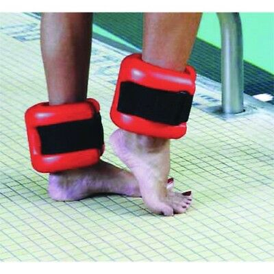 CanDo 20-4040R Ankle Cuffs Pair Red. CanDo Fitness and Rehab. Delivery is Free