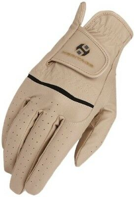 (6, Beige) - Heritage Premier Show Glove. Heritage Products. Free Delivery