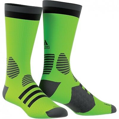 (Size 46 - 48, Green/Versol/Brgros/Negro) - adidas Children's Ace Socks