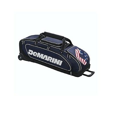 (navy) - DeMarini Special Ops Wheeled Bag. DeMarini Sports. Shipping is Free