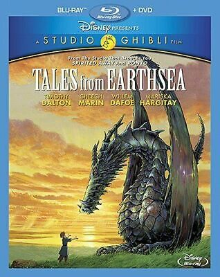 New Tales from Earthsea (Blu-ray/DVD, 2015, 2-Disc Set)