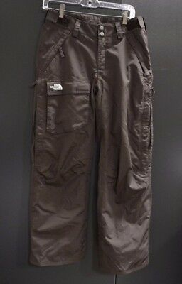 Women's The North Face Hyvent Chocolate Brown Breathable Ski Snow Pants Size S