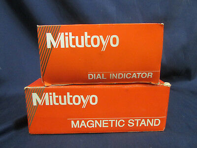 Mitutoyo Dial Indicator 2416S And Magnetic Stand 7010-SN