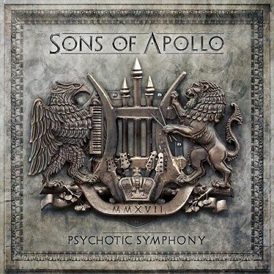 "Sons Of Apollo ""Psychotic Symphony"" Gatefold gold 2LP + CD [All Star Prog Metal]"