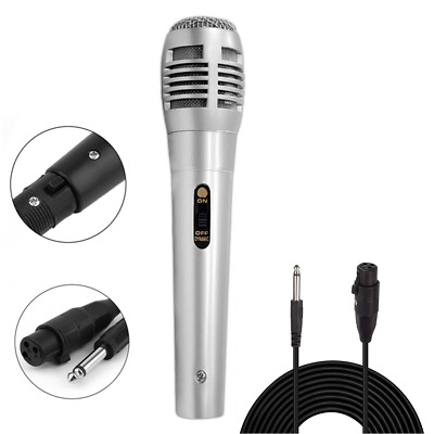 Unidirectional Stage DJ Dynamic Wired Microphone Handheld Professional Mic