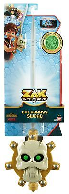 Zak Storm Calabrass Toy Sword Ornate Crossguard Includes One Coin