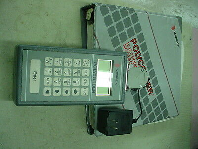 POLYCORDER OMNIDATA PC-605 Data Logger with key pad terminal