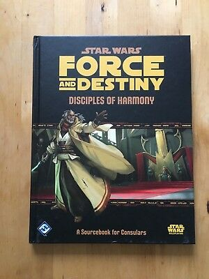 Star Wars - Force And Destiny - Disciples Of Harmony