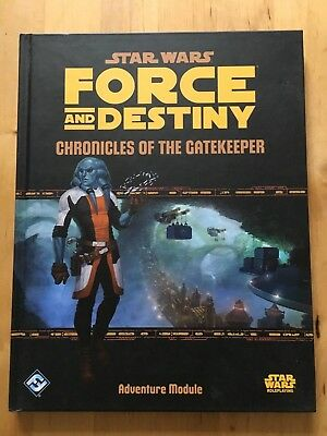 Star Wars - Force And Destiny - Chronicles Of The Gatekeeper